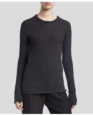 ATM Anthony Thomas Melillo Cashmere Crew Neck Sweater - Charcoal