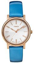 Timex Ladies Originals Classic Round Rose Goldtone Watch