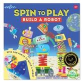 Eeboo Toddler Boy's Robot Spinner Game