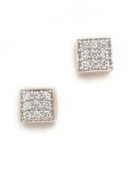 ginette_ny Mini Diamond Ever Stud Earrings
