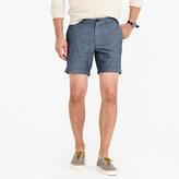 """J.Crew 7"""" Short In Cotton-Linen"""