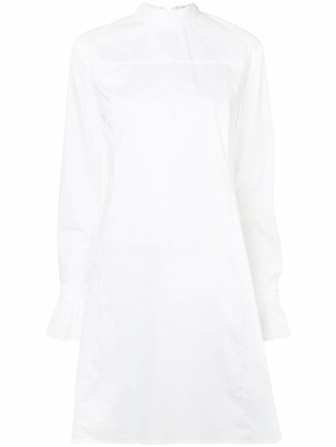 Victoria Victoria Beckham Reversed Midi Dress