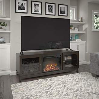 Ameriwood Home Ryan Point Fireplace 70""
