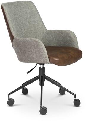 Apt2B Trenton Office Chair GREY/BROWN