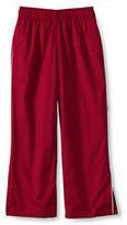 Classic Little Boys Piped Athletic Pants-Red