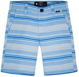 Hurley Boys 4-7 Striped Straight-Fit Shorts