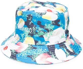 Kenzo Floral-Print Bucket Hat