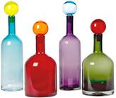 Pols Potten Bubbles & Bottles Set of Four Glass Bottles