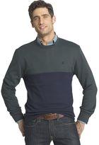 Izod Men's Advantage Regular-Fit Colorblock Crew Pullover
