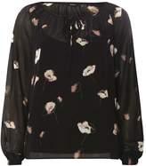 Vero Moda **Vero Moda Black Floral Print Top