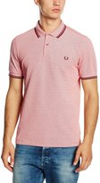 Fred Perry F Perry Slim Fit Twin Tipped Polo Shirt S