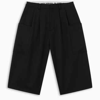 Ambush Black loose-fit shorts