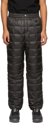 TAION Black Down Heated EXTRA Cargo Pants