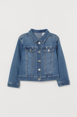 H&M Appliqued denim jacket