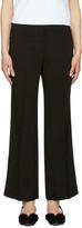 Emilio Pucci Black Wide-Leg Trousers