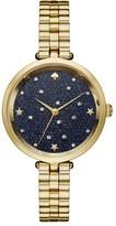 Kate Spade Women's Celestial Holland Crystal Dial Bracelet Watch, 34Mm