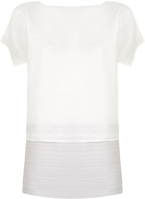 Pleats Please Issey Miyake Stone Gradation top