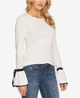 CeCe Tie-Cuff Sweater