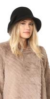 Kate Spade Flat Top Cloche Hat