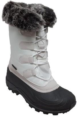 Winter Tecs Women's Nylon Winter Boots White