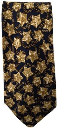 Chanel Gold Silk Ties