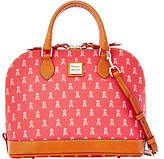Dooney & Bourke MLB Angels Zip Zip Satchel