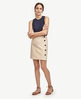 Ann Taylor Petite Side Button Skirt