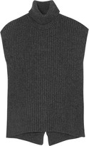 Brunello Cucinelli Ribbed cashmere-blend sweater