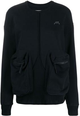 A-Cold-Wall* Overlock printed logo sweatshirt