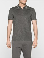 Calvin Klein Janso Cotton Pique Fitted Polo Shirt