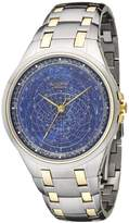 Accurist Celestial Timepiece Men's Quartz Watch with Dial Analogue Display and Two Tone Stainless Steel Bracelet GMT117USA