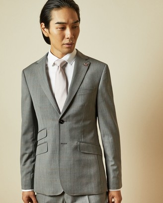 Ted Baker Sterling Wool Checked Jacket
