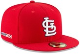 New Era Men's Red St. Louis Cardinals Game MLB 150th Anniversary Authentic Collection 59FIFTY Fitted Hat