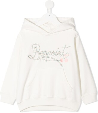 Bonpoint Embroidered Logo Hoodie