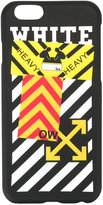 Off-White striped iPhone 6 case - unisex - PVC - One Size