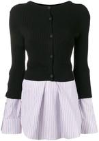 Kenzo contrast sweater top