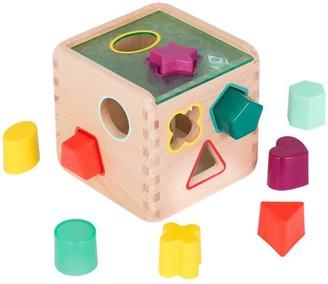 B. Toys B. Wooden Shape Sorter