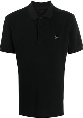 Philipp Plein Printed Polo Shirt