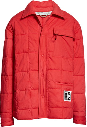 Off-White Tampico Arrow Patch Puffer Jacket