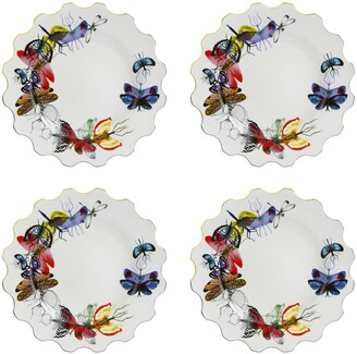Christian Lacroix Caribe Set of 4 Dinner Plates