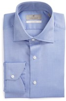 Canali Men's Regular Fit Solid Dress Shirt