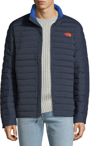 The North Face Men's Stretch Quilted-Down Water-Repellant Jacket