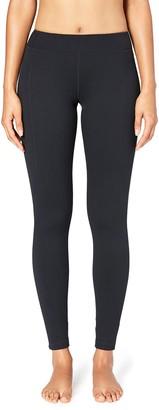 Core 10 Amazon Brand Womens Build Your Own Yoga Pant - Medium Waist Full-Length Legging L (Short Inseam)