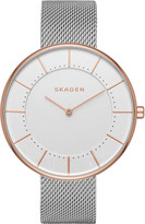 Skagen SKW2583 Gitte rose gold-plated stainless steel watch