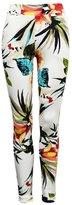 GirlzWalk ® Women Floral Print Two Pocket Summer Pants Crepe Ladies Trouser Joggers