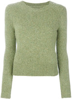 Isabel Marant Erwan fitted crew neck sweater