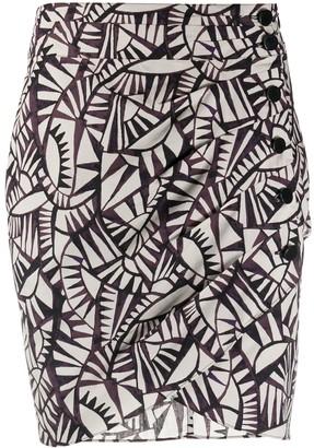 BA&SH Oster mini skirt