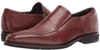 Ecco Calcan Apron Toe Slip-On (Black) Men's Shoes
