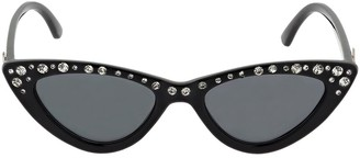 MonnaLisa Embellished Acetate Sunglasses