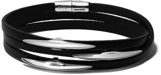 Shaun Leane Arc wrap leather bracelet